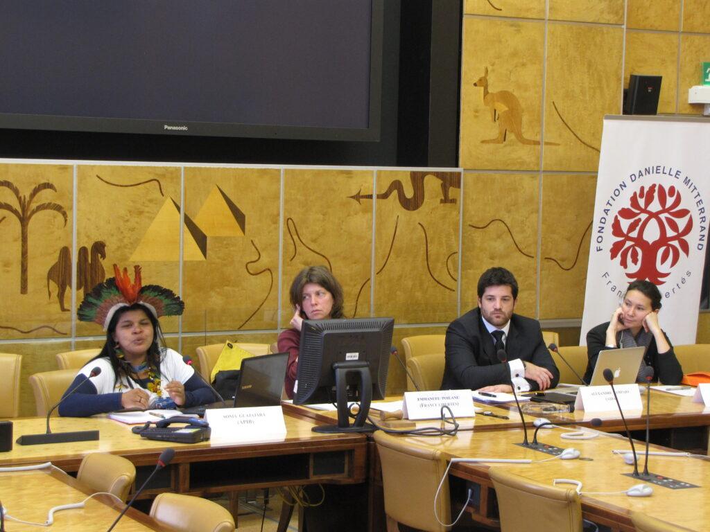 Sonia Guajajara e Alexandre Sampaio denunciam violações de direitos indígenas na ONU